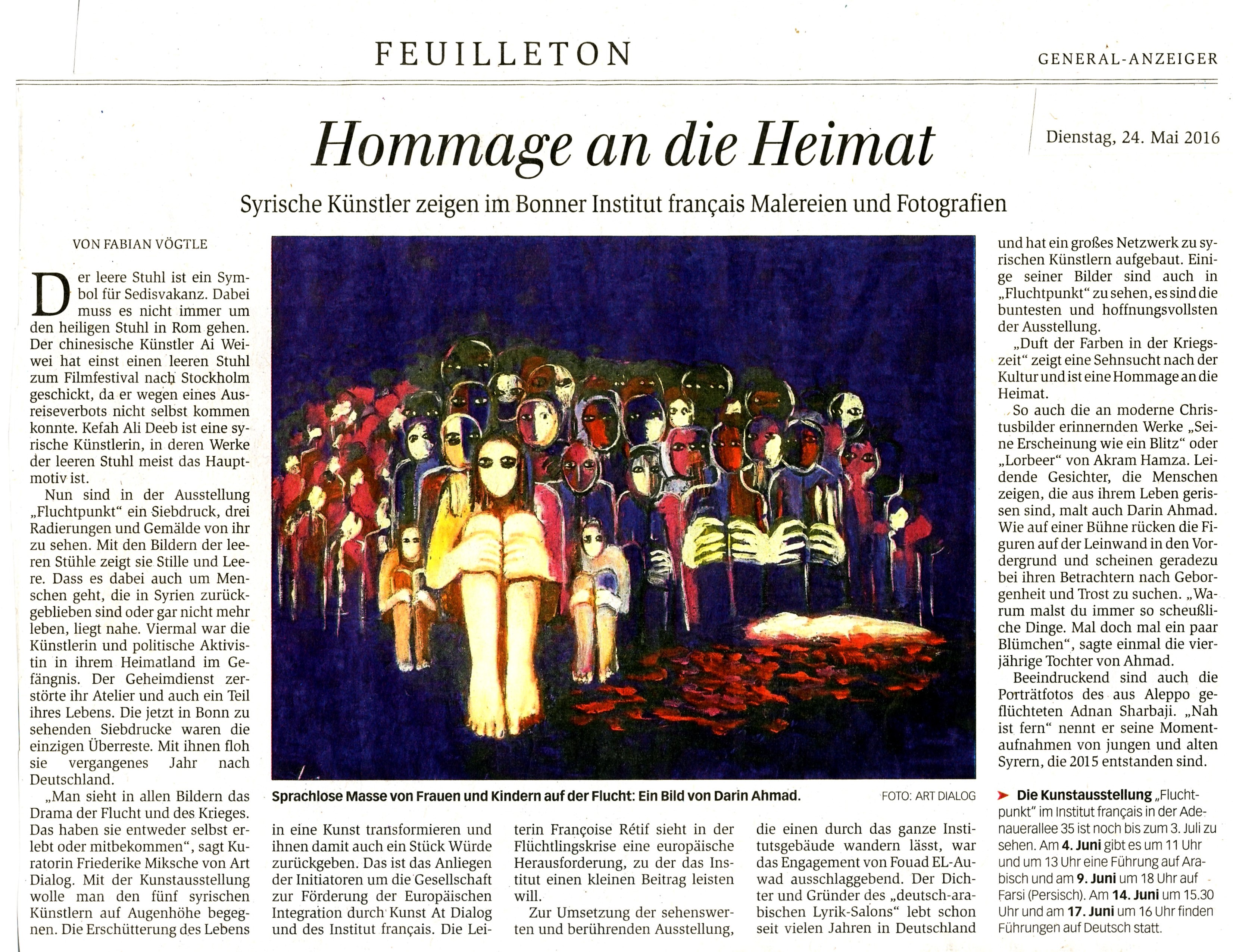 "Article at ""Bonner Generalanzeiger"""